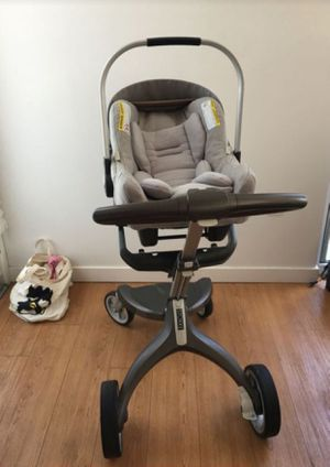 Stokke Nuna Stroller and Car seat With Base for Sale in San Marcos, CA