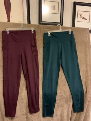 Workout pants sizes xl $10 each for Sale in Fresno, CA
