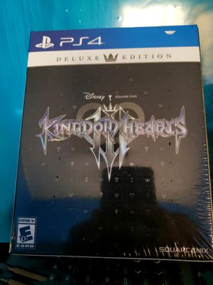 Kingdom Hearts 3 Deluxe PS4 for Sale in Waddell, AZ