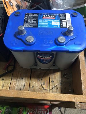 (2) Optima blue top batteries. (2) for Sale in Cheyenne, WY