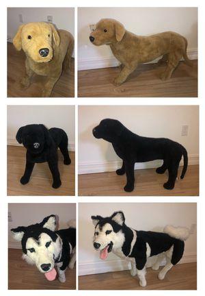 life size stuffed animals for Sale in Bradenton, FL