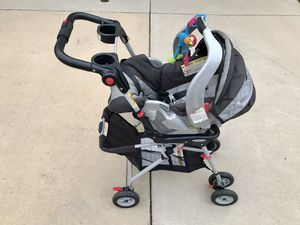 Graco All-in-one Infant Car seat with 2 bases and stroller frame for Sale in Washington, DC
