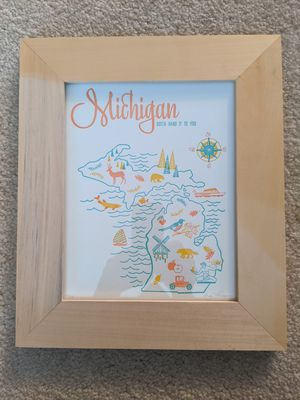 Framed picture of Michigan! for Sale in Arlington Heights, IL