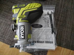 Ryobi P601 - 18-Volt ONE+ Cordless Fixed Base Trim Router Includes manual and wrench Factory reconditioned like new for Sale in Fort Lauderdale, FL