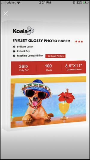 Koala inject photo paper for Sale in NY, US