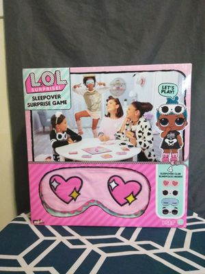 Lol sleepover surprise game for Sale in Preston, CT