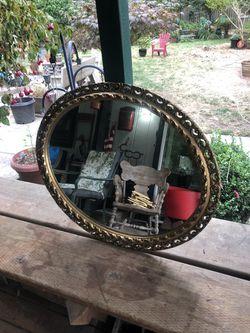 Oval mirror for Sale in Auburn,  WA