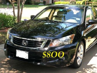 ✅🟢💲8OO Urgently Selling By Owner 2OO9 💚 Honda Accord V6 EX-L Comfortable fully loaded.Clean tittle!!✅🟢 for Sale in Washington,  DC