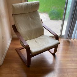 Rocking Chair With Leather Seats for Sale in Fresno,  CA