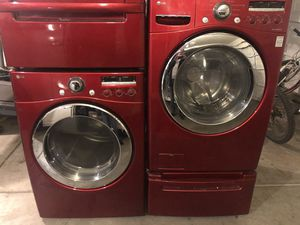 Lg washer and dryer- for parts for Sale in Turlock, CA