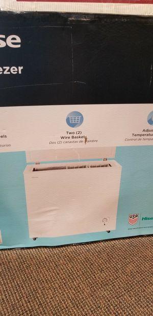 New in box chest freezer for Sale in Modesto, CA