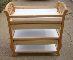 Changing table with pad for Sale in Philadelphia, PA