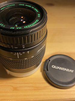 Quantaray MX AF 28-80mm 1:3.5-5.6 Camera Lens. for Sale in Birmingham,  MI