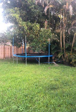 Large trampoline for Sale in Pompano Beach, FL