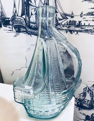 Antique Glass Liquor Bottle sailboat price drop for Sale in Cleveland, OH
