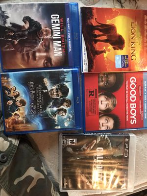 Blue ray dvds for Sale in Cottage Grove, OR