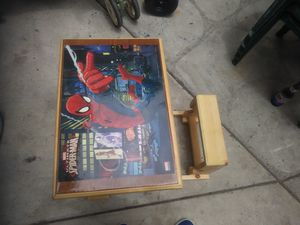 Spider-Man desk and seat for Sale in Oceanside, CA