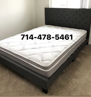 QUEEN SIZE BED AND MATTRESS for Sale in San Diego, CA