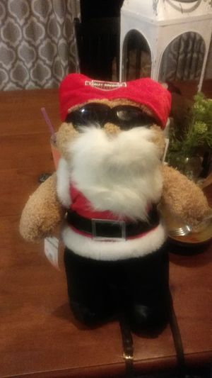 Harley-Davidson Bad Santa bear for Sale in Gig Harbor, WA