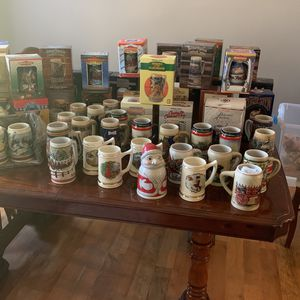Budweiser Mug Collection for Sale in Winter Haven, FL