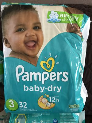 Pampers size 3 for Sale in Escondido, CA