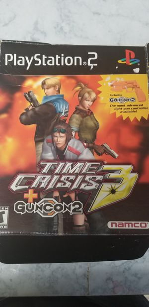 PS2 Guncon 2 for time crisis 3 new in box for Sale in Washington, DC