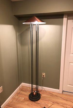 Copper floor lamp for Sale in Cranston, RI
