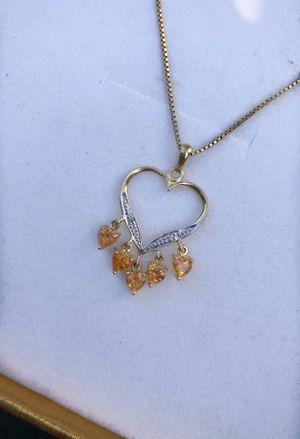 14k gold necklace 🎁 for Sale in Huntington Park, CA