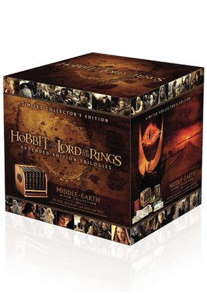 Middle-Earth: 6-Film Limited Collector's Edition (Blu-ray + DVD) for Sale in Compton, CA
