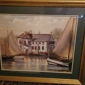 4'×3.5' Sambatero Painting With Signature for Sale in Bristol, CT