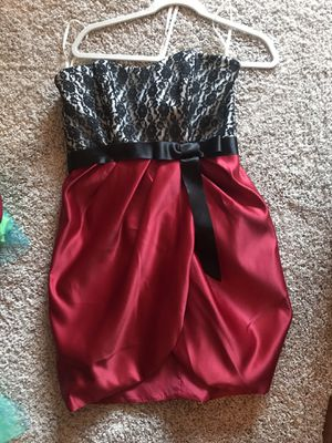Red, black and white cocktail dress for Sale in Washington, DC