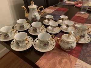 Fancy tea and espresso set! High quality! for Sale in MONTGOMRY VLG, MD