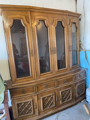 Antique dining room cabinet for Sale in Whittier, CA
