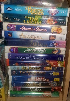 Vintage Disney VHS for Sale in Mesquite, TX