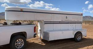 Miley 1 horse gooseneck trailer for Sale in Phoenix, AZ