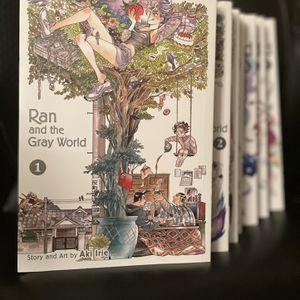 Ran And The Gray World Volumes 1-7 for Sale in San Bernardino, CA