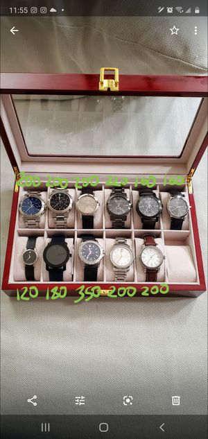 Burberry, MOVADO, Quartz, Swiss, Sapphire Crystal, Leather, Stainless Steel, Gold, Silver, Luxury and Fashion Wrist Watches Men & Women for Sale in Beaverton, OR