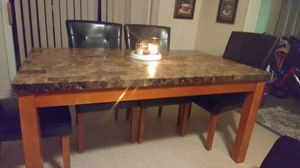 Dining table with 6 chairs for Sale in Redmond, OR