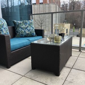 Patio Set Furniture With Cushions/pillows for Sale in McLean, VA