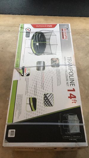 BouncePro 14ft Trampoline and Enclosure for Sale in Haymarket, VA