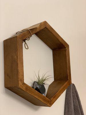 Handmade Hexagon Planter Shelf/ honeycomb shelf / geometric shelf for Sale in Seattle, WA