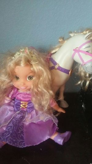 Rapunzel doll with horse for Sale in Aurora, CO