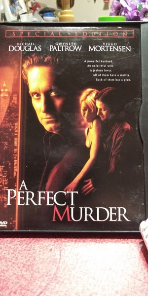 A Perfect Murder dvd for Sale in Brainerd, MN