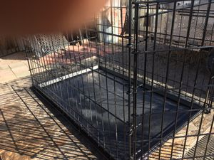 Large dog cage for Sale in Apache Junction, AZ