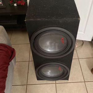 Subwoofer And Amplifier for Sale in Carson, CA