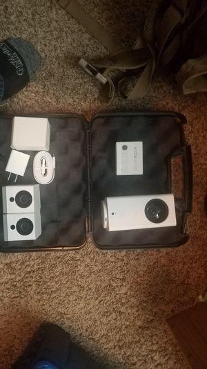 Pan camera, 2 regular cameras, motion sensors and contact sensors for Sale in Nashville, TN