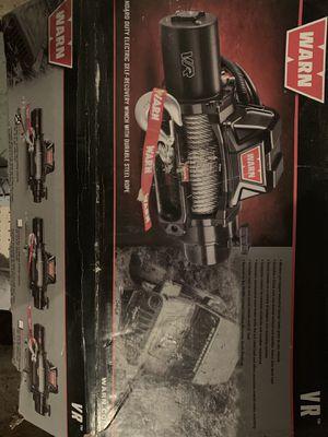 WARN 8000-lb winch brand new vr warn style winch for Sale in Berlin, NJ
