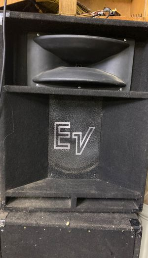 "Electrovoice speakers 15"" pair for Sale in Reedley, CA"