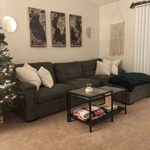Deep Cushion Sectional Couch for Sale in Wilsonville, OR