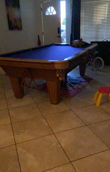 Pro Poll Table, 3 Piece Slate for Sale in Kissimmee, FL